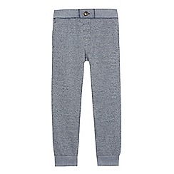 Converse - Boys' grey embossed joggers