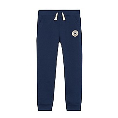 Converse - Boys' navy fleece joggers