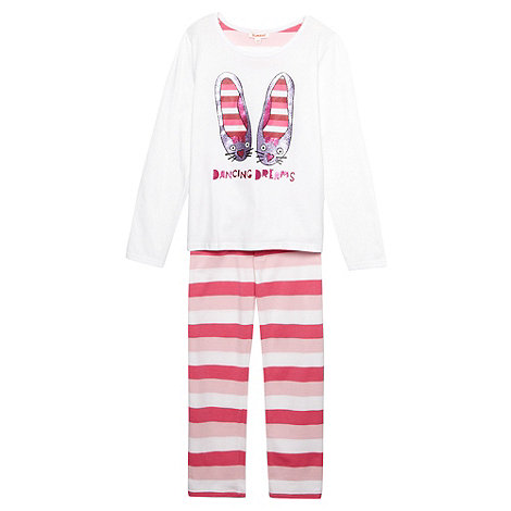 bluezoo - Girl+s pink +Dancing Dreams+ pyjama set