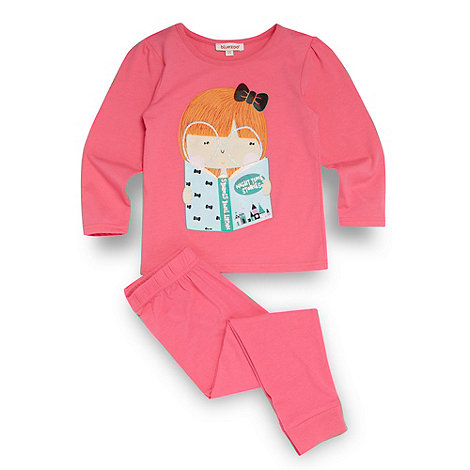 bluezoo - Girl+s pink print pyjama set