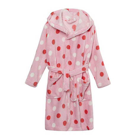 bluezoo - Girl+s pink bunny novelty dressing gown