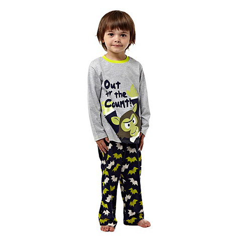 bluezoo - Boy+s pack of two printed pyjamas