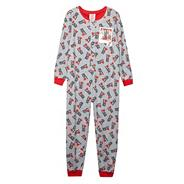 Girl's grey One Direction onesie