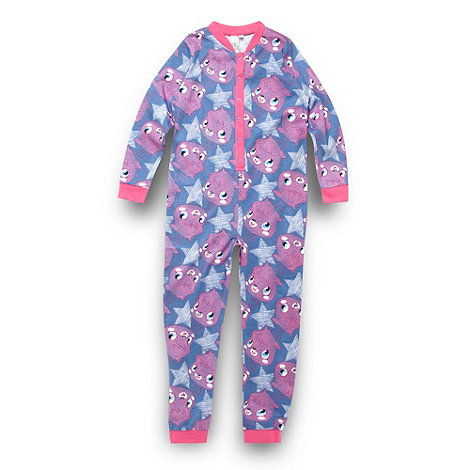 Moshi Monsters - Girl+s blue +Moshi Monsters+ onesie