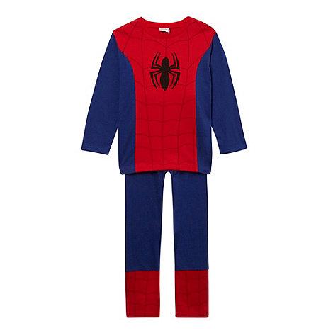 Spider-man - Boy+s red +Spiderman+ dress up pyjamas
