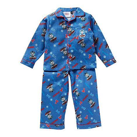 Thomas & Friends - Boy+s blue +Thomas the Tank Engine+ woven pyjamas