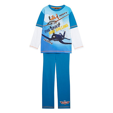 Disney Planes - Boy+s blue +Planes+ pyjama set