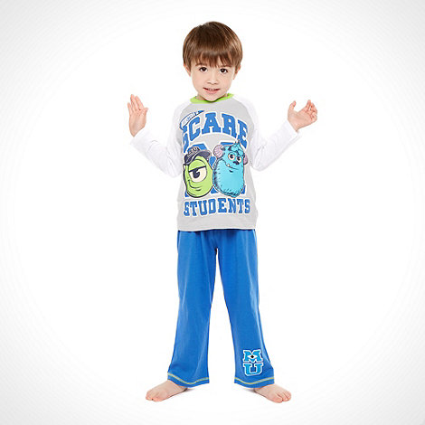 Monsters University - Boy's blue 'Monsters University' pyjama set