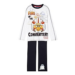 Angry Birds Star Wars - Boy's white 'Angry Birds Star Wars' pyjamas
