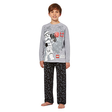 Star Wars - Boy+s grey +Star Wars+ pyjamas