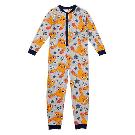 Moshi Monsters - Boy+s grey +Moshi Monsters+ onesie