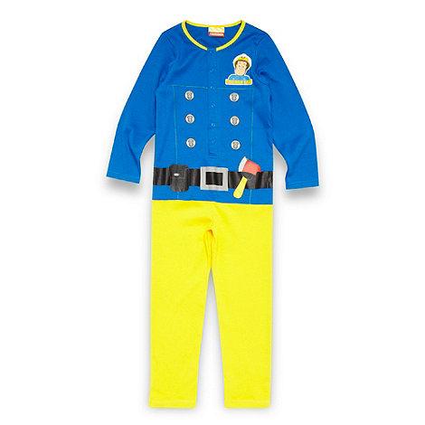 Fireman Sam - Boy+s blue +Fireman Sam+ onesie