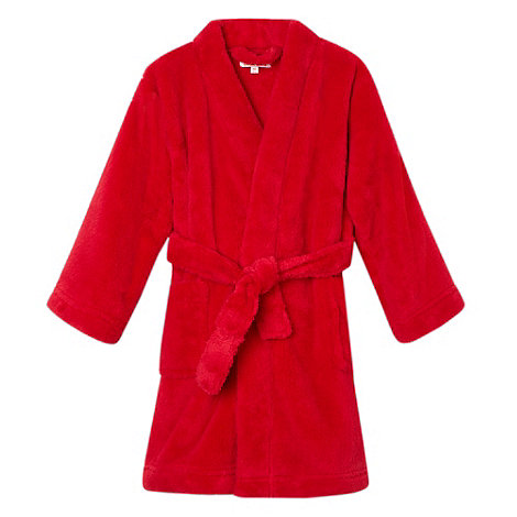 bluezoo - Boy's red dressing gown