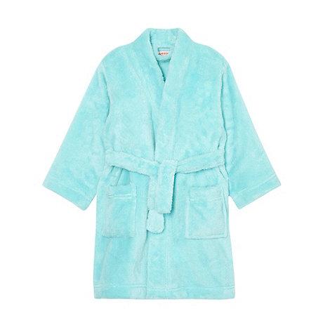 bluezoo - Girl+s aqua dressing gown