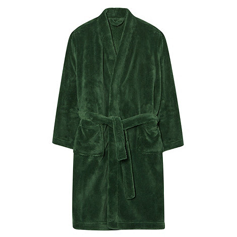 bluezoo - Boy+s green dressing gown