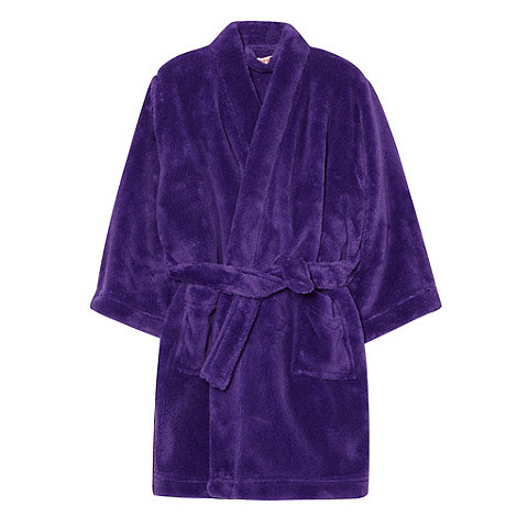 bluezoo - Girl+s purple dressing gown