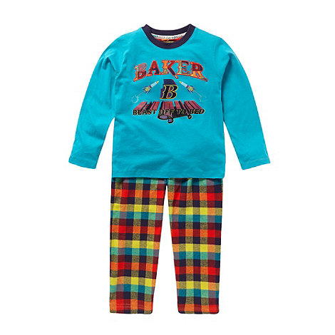 Baker by Ted Baker - Boy+s multi logo pyjamas