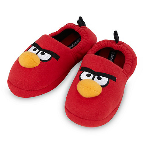 Angry birds - Boy+s red +Angry Birds+ slippers