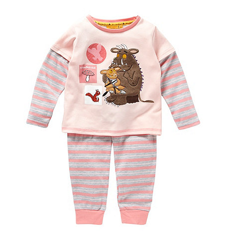 The Gruffalo - Girl+s pink Gruffalo pyjama set
