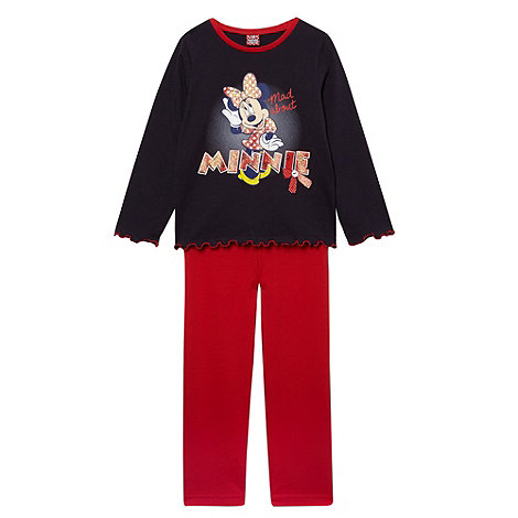 Minnie Mouse - Girl+s +Minnie Mouse+ pyjamas