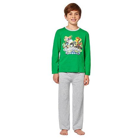 Skylanders - Boy+s green +Skylanders+ pyjamas
