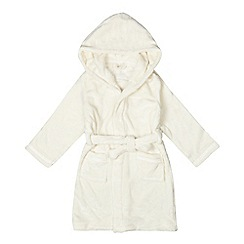 J by Jasper Conran - Girls' cream dressing gown