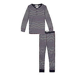 J by Jasper Conran - Boys' multicoloured striped pyjama set