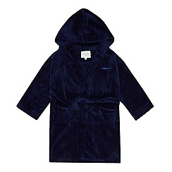 J by Jasper Conran - Boys' navy hooded dressing gown