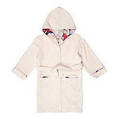 Baker by Ted Baker - Girls' pink hooded dressing gown