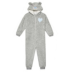 Tatty Teddy - Girls' grey 'Me To You' onesie