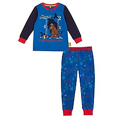 The Gruffalo - Boys'  blue 'The Gruffalo' long-sleeved pyjama set