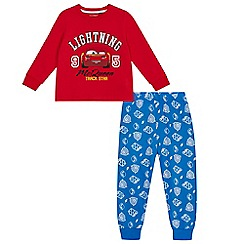 Disney Cars - Boys' red 'Lightning McQueen' print pyjama set
