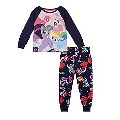 My Little Pony - Girls' multi-coloured 'My Little Pony' pyjama set