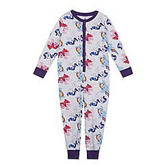 My Little Pony - Girls' multi-coloured 'My Little Pony' onesie