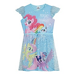 My Little Pony - Girls' blue 'My Little Pony' dress