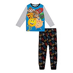 Emojinal - Boys' multi-coloured 'Emoji Movie' print pyjama set