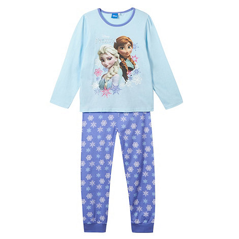 Disney Frozen - Girl+s aqua +Frozen+ pyjama set