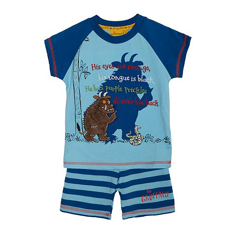 The Gruffalo - Boy+s blue +Gruffalo+ pyjama set