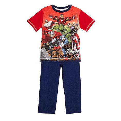 The Avengers - Boy+s navy +Avengers Assemble+ pyjama set