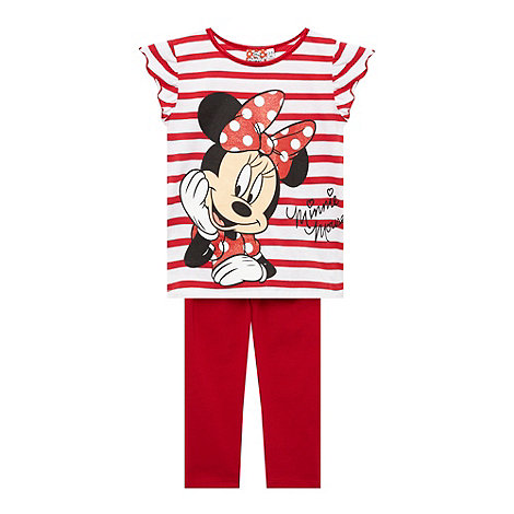 Disney - Girl+s red +Minnie Mouse+ pyjama set