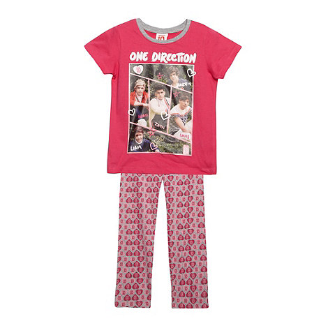 One Direction - Girl+s pink +One Direction+ pyjama set