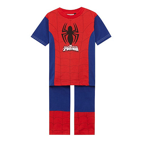 Spider-man - Boy+s red +Spiderman+ pyjama set