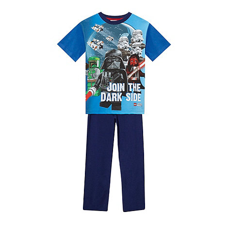 Star Wars - Boy+s blue +Lego Star Wars+ pyjamas