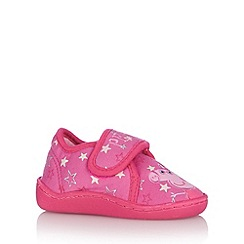 Peppa Pig - Girl's pink 'Peppa Pig' slippers