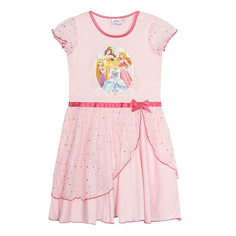 Disney Princess - Girl+s pink princess nightie