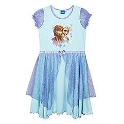 Disney Frozen - Girl's aqua 'Frozen' nightie