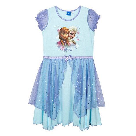 Disney Frozen - Girl+s aqua +Frozen+ nightie