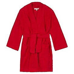bluezoo - Boy's red towelling dressing gown