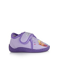 Disney Frozen - Girl's purple 'Frozen' slipper shoes