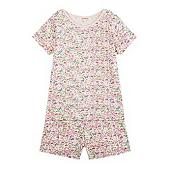 bluezoo - Girl's pink dragonfly pyjama set